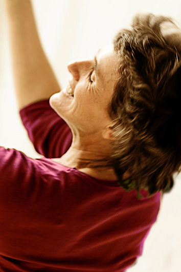 Andrea Lucas in einer Tanzszene