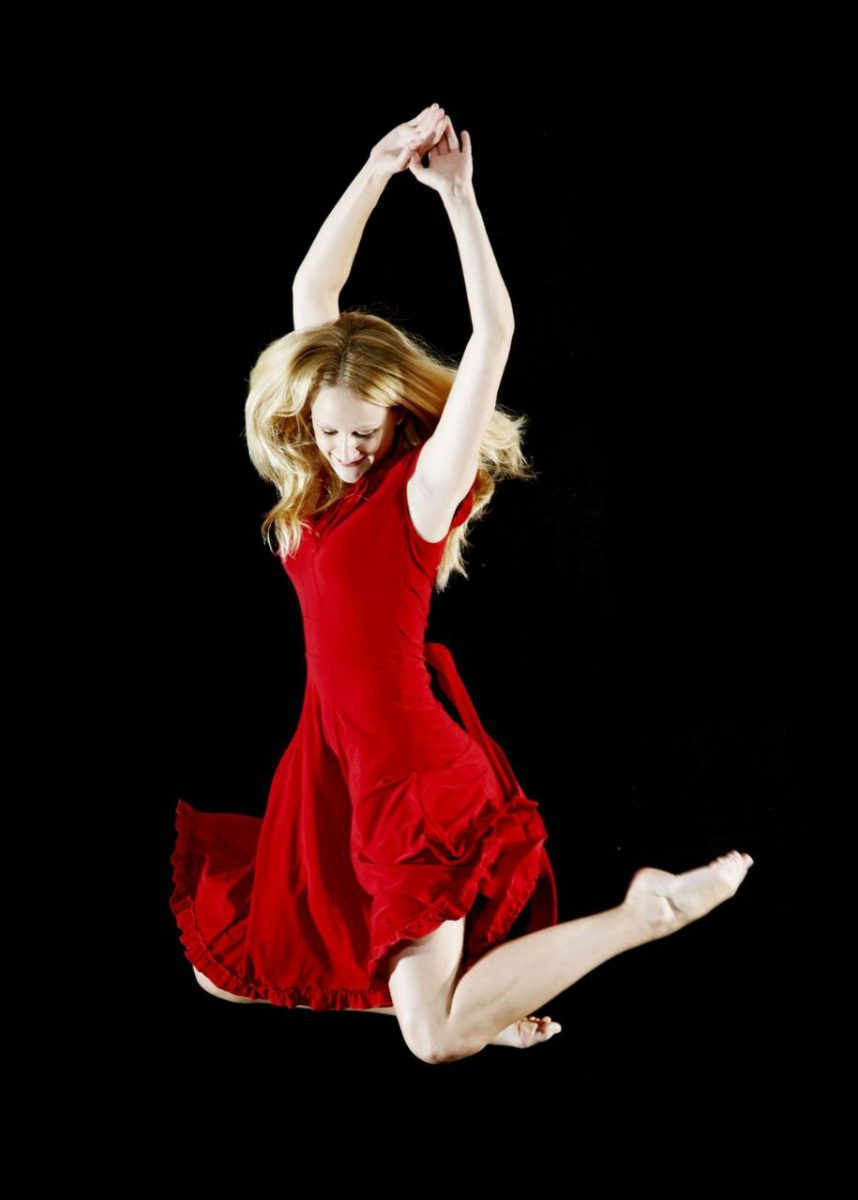 Tanzszene mit Judith Nüssler